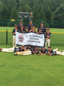 Virginia State Champions, LSLL National!