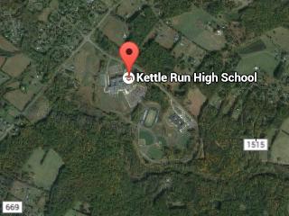 View of Kettle Run High School
